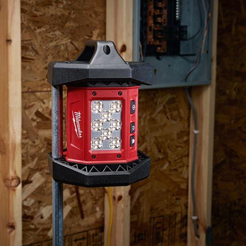 milwaukee 2361 20 m18 led flood light. Black Bedroom Furniture Sets. Home Design Ideas