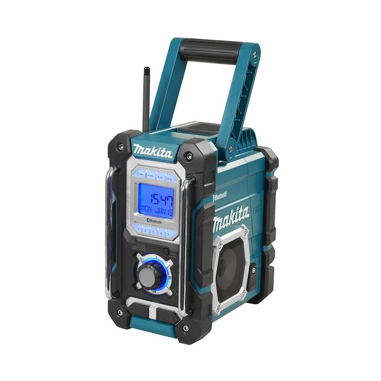 makita dmr106 cordless or electric jobsite radio with. Black Bedroom Furniture Sets. Home Design Ideas