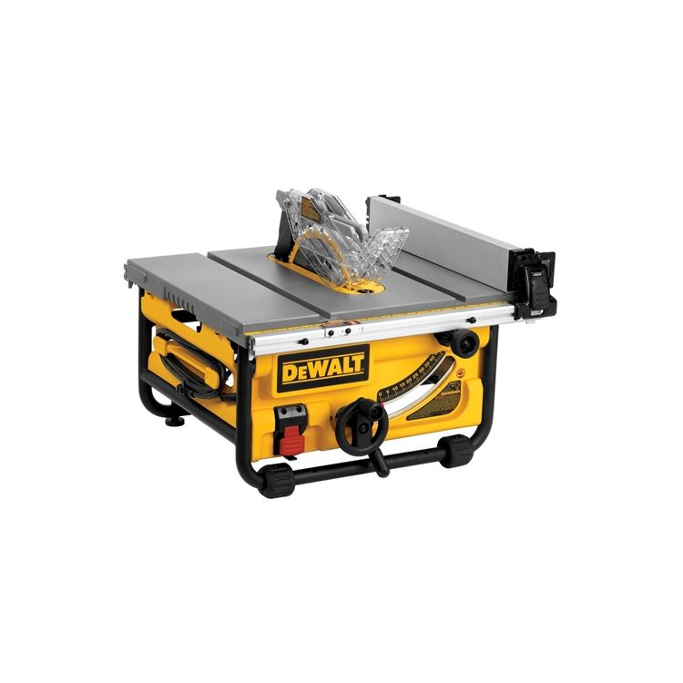 Dwe7480 10 Quot Compact Job Site Table Saw With Site Pro