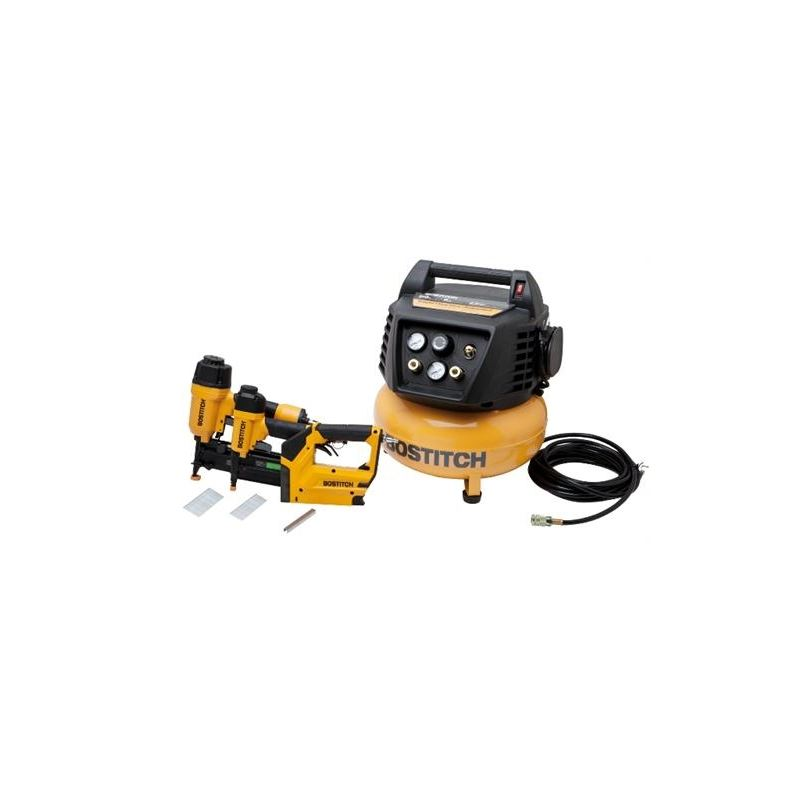 Bostitch Btfp72646 3 Tool Compressor Combo Kit