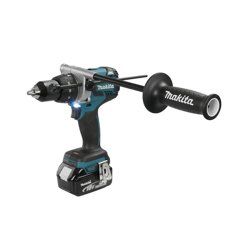 Makita Dhp481rte 1 2 Cordless Hammer Driver Drill With Brushless Motor