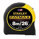 Stanley 33-725 8m/26 ft FATMAX® Tape