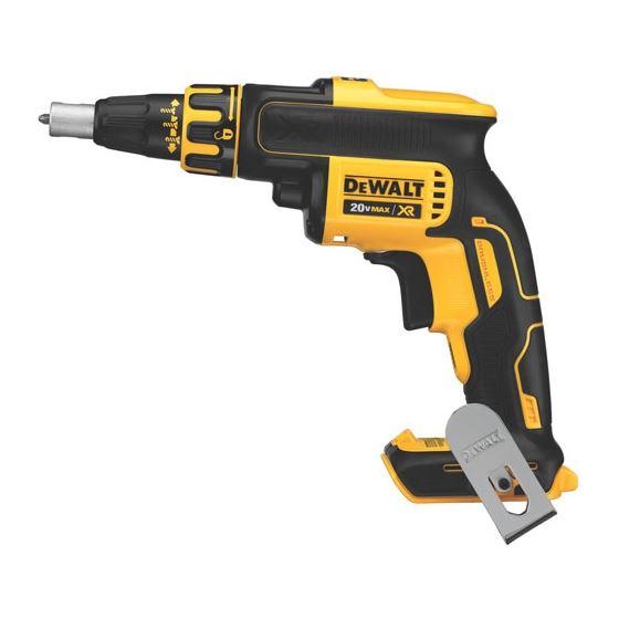 dewalt 20v brushless. dcf620b 20v max* xr li-ion brushless drywall screw dewalt h