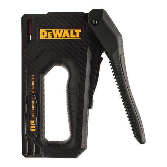 DWHT80276 Carbon Fiber Composite Staple Gun