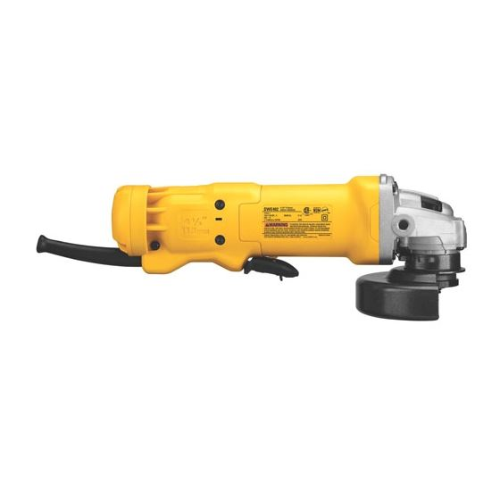 DWE402 4.5 inch Small Angle Grinder-4