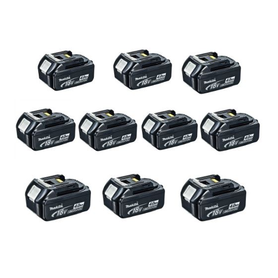 BL1840-10 10pack 4ah Lithium Battery