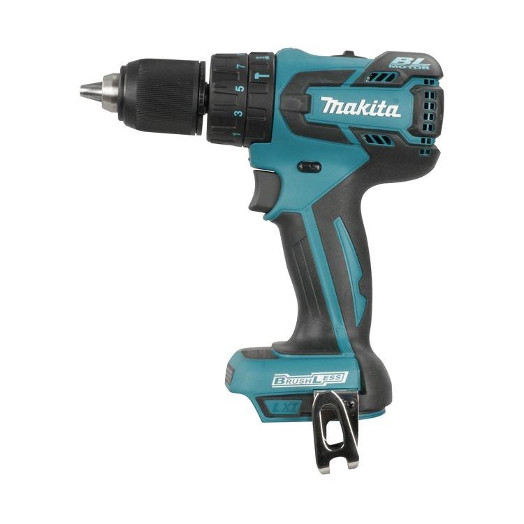 Makita Dhp480z 18v 1 2 Cordless Hammer Driver Drill With Brushless Motor