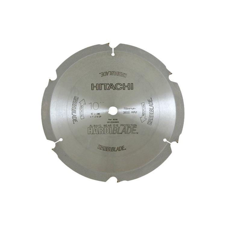 Hitachi 18108 10 Quot X 6 Tooth Miter Table Saw Hardi Blade