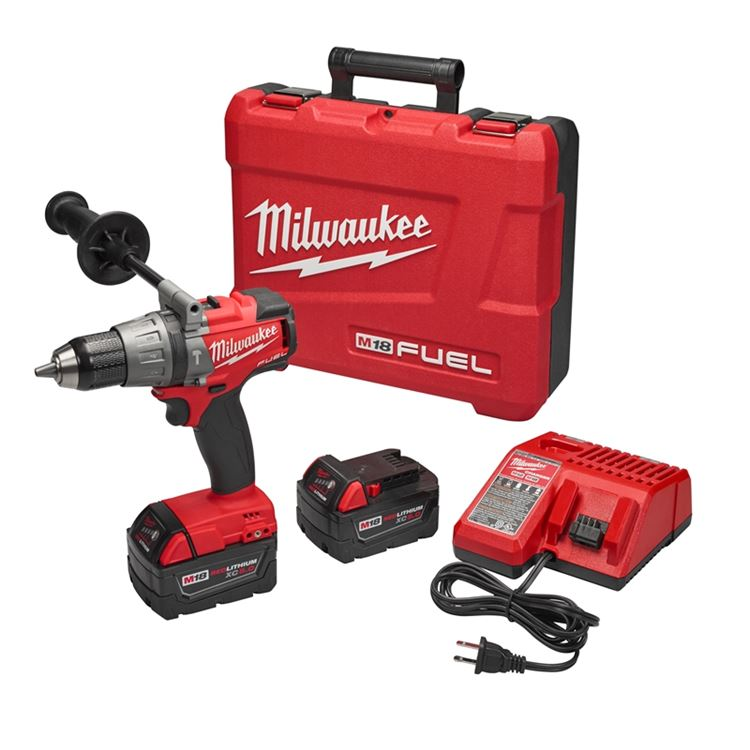 "Milwaukee 2704-22 M18 FUEL™ 1/2"" Hammer Drill/Driv"