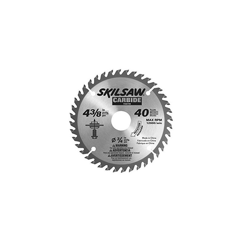 75540 4-3/8-Inch by 40T Carbide Flooring Blade