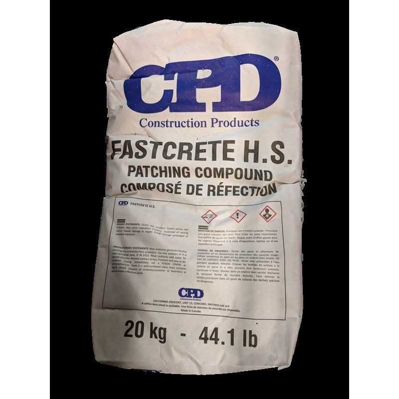 CPD® FASTCRETE H.S. Patching Cement