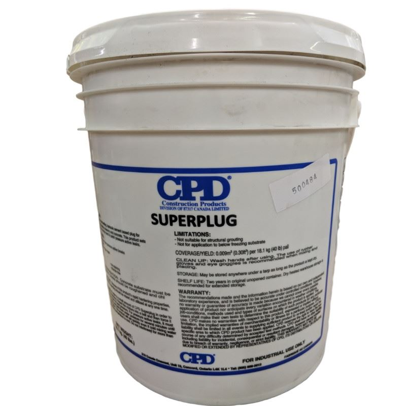 CPD Superplug 18kg Pail